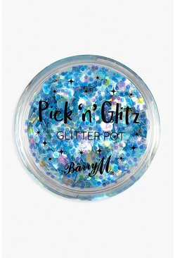 Dam Blue Barry M Pick & Glitz Glitter Pot - Slay