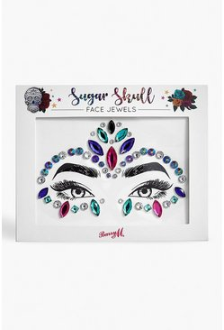 Dam Multi Barry M Sugar Skull Face Jewel
