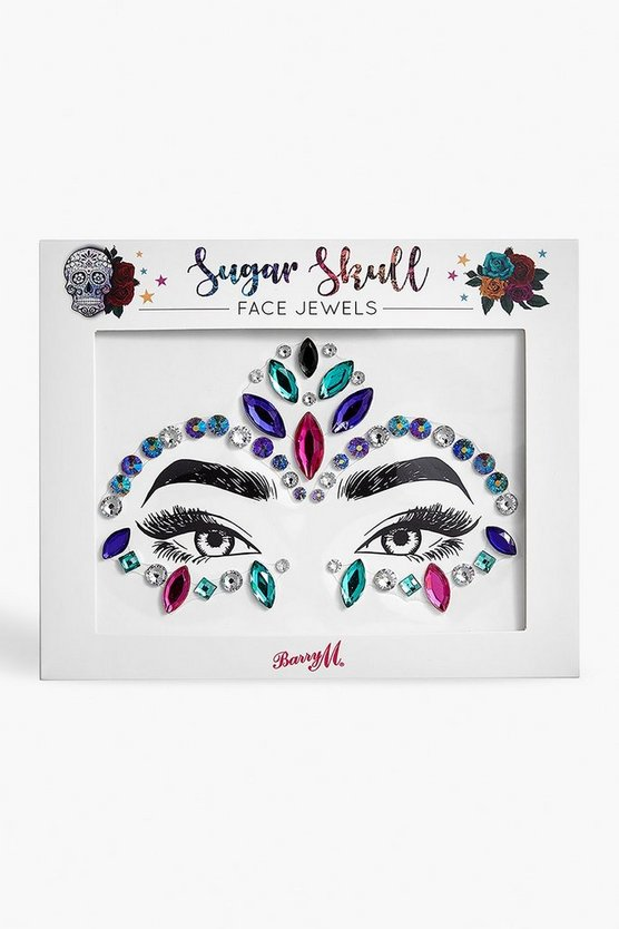 Barry M Sugar Skull Face Jewel
