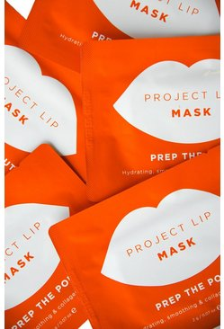 Womens White Project Lip Mask