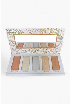 Palette highlighter Body Collection, Bianco, Femmina