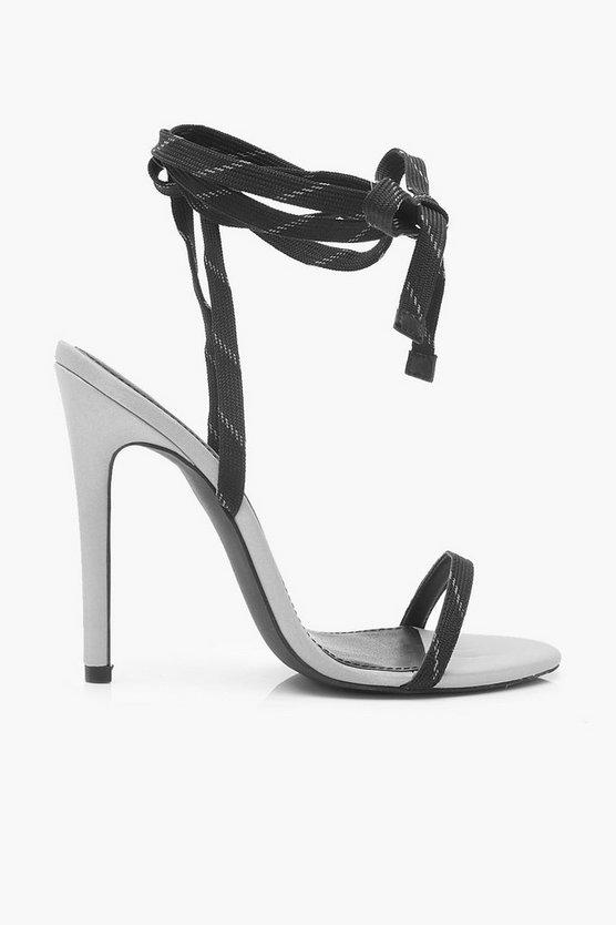 Reflective Stiletto Heel 2 Parts