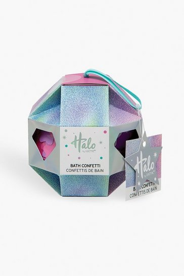 Womens Pink Halo Bath Confetti