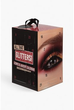 Calendario dell'Avvento All That Glitters, Rosso, Femmina