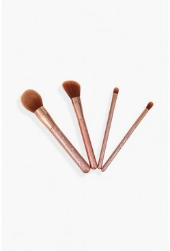 Womens Rose gold L&K - Brush Set