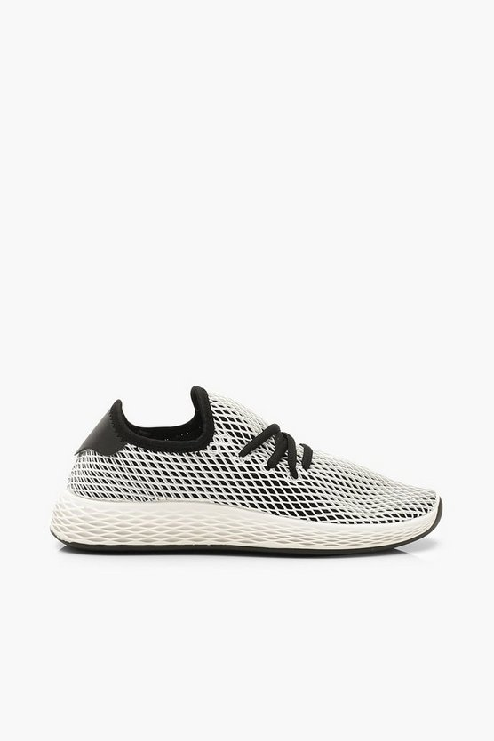 Mesh Basic Lace Up Trainers
