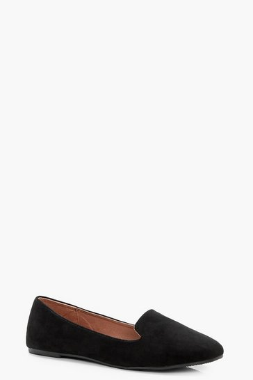 Black Tab Top Slipper Ballets Immy
