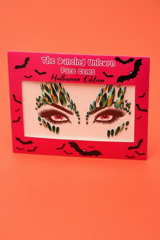 Halloween Mermaid Face Gems