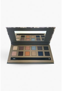 Palette di ombretti Into The Night  Body Collection, Marrone, Femmina