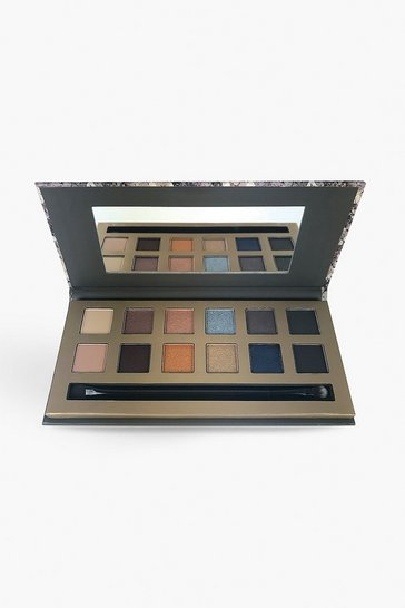 Womens Brown Body Collection Into The Night Eyeshadow Palette