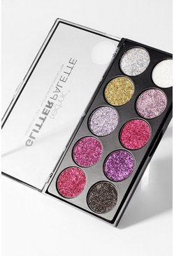 Paleta de ojos Technic Glitter Palace Unicorn, Multicolor