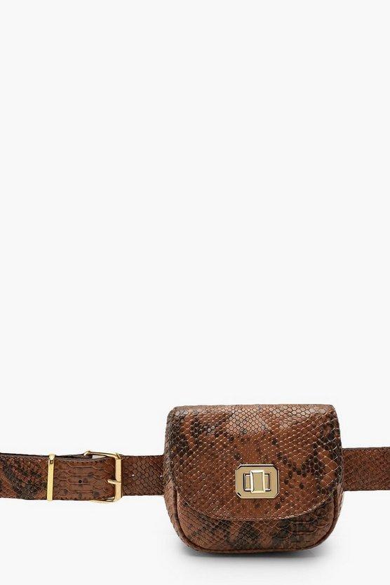 Snake Mini Twist Lock Multiway Bag