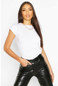 White 2 Pack Cap Sleeve T-Shirt