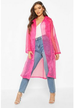 Womens Hot pink Organza Mac