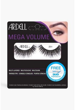 Womens Black Ardell Mega Volume Lashes - 251