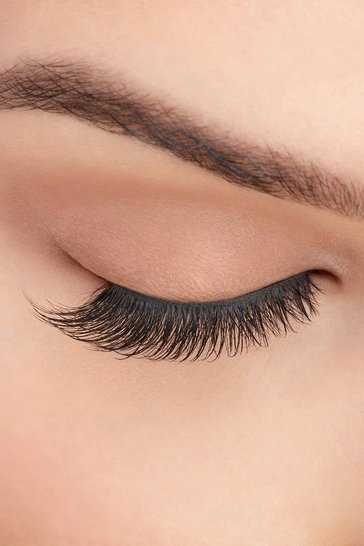 Womens Black Ardell Faux Mink Lashes - 811