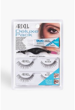 Womens Black Ardell Deluxe Kit - 110