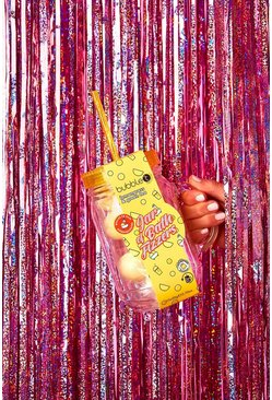 Womens Bubble T Jar Of Bath Fizzers-Yellow