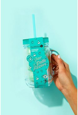 Bubble T Becher mit Badebomben, Blau, Damen