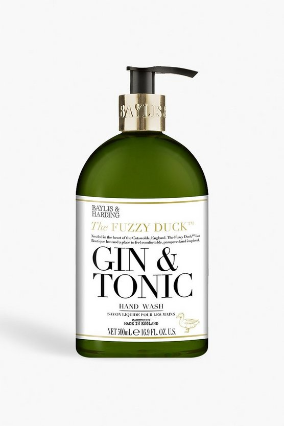 Womens Black Baylis & Hardings Gin and Tonic Hand Wash