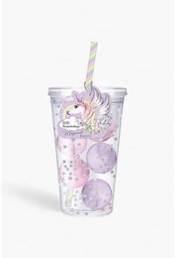Womens Lilac Baylis & Harding Unicorn Travel Cup