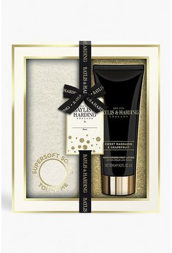 Womens White Baylis & Harding Mandarin Foot Set