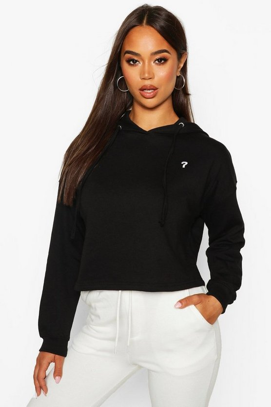 Micro Pocket Cropped Hoody