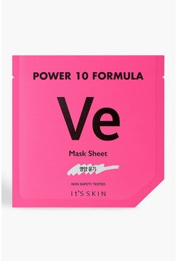 Womens Pink It's Skin Power 10 VE Face Mask