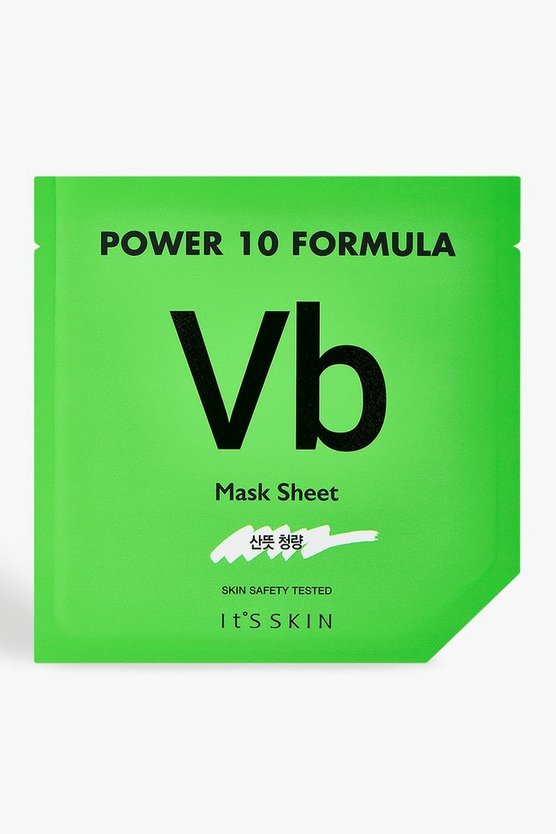 Womens Green It's Skin Power 10 VB Face Mask