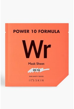 Womens Orange It's Skin Power 10 WR Face Mask