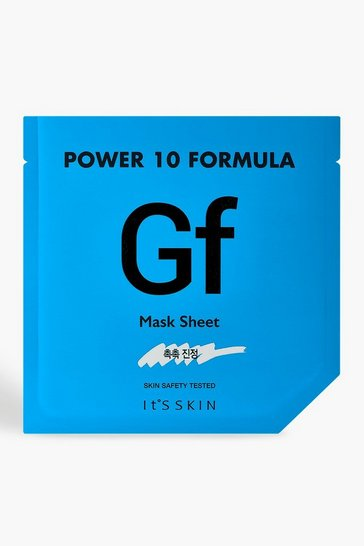 Womens Blue It's Skin Power 10 GF Face Mask