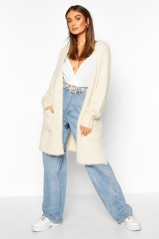 Premium Fluffy Knit Cardigan