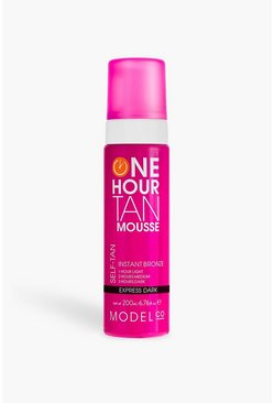 ModelCo Vegan 1 Hour Express Dark Mouse 200 ml, Braun, Damen
