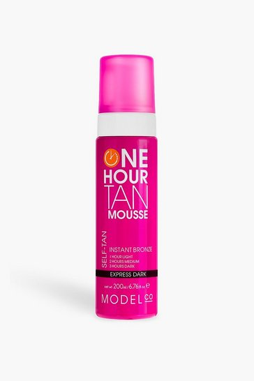 Womens Brown ModelCo Vegan 1hr Express Dark Mouse 200ml