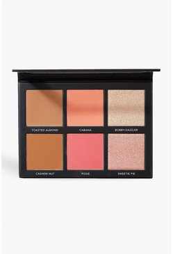 Womens Multi Sculpt & Glow Face Palette