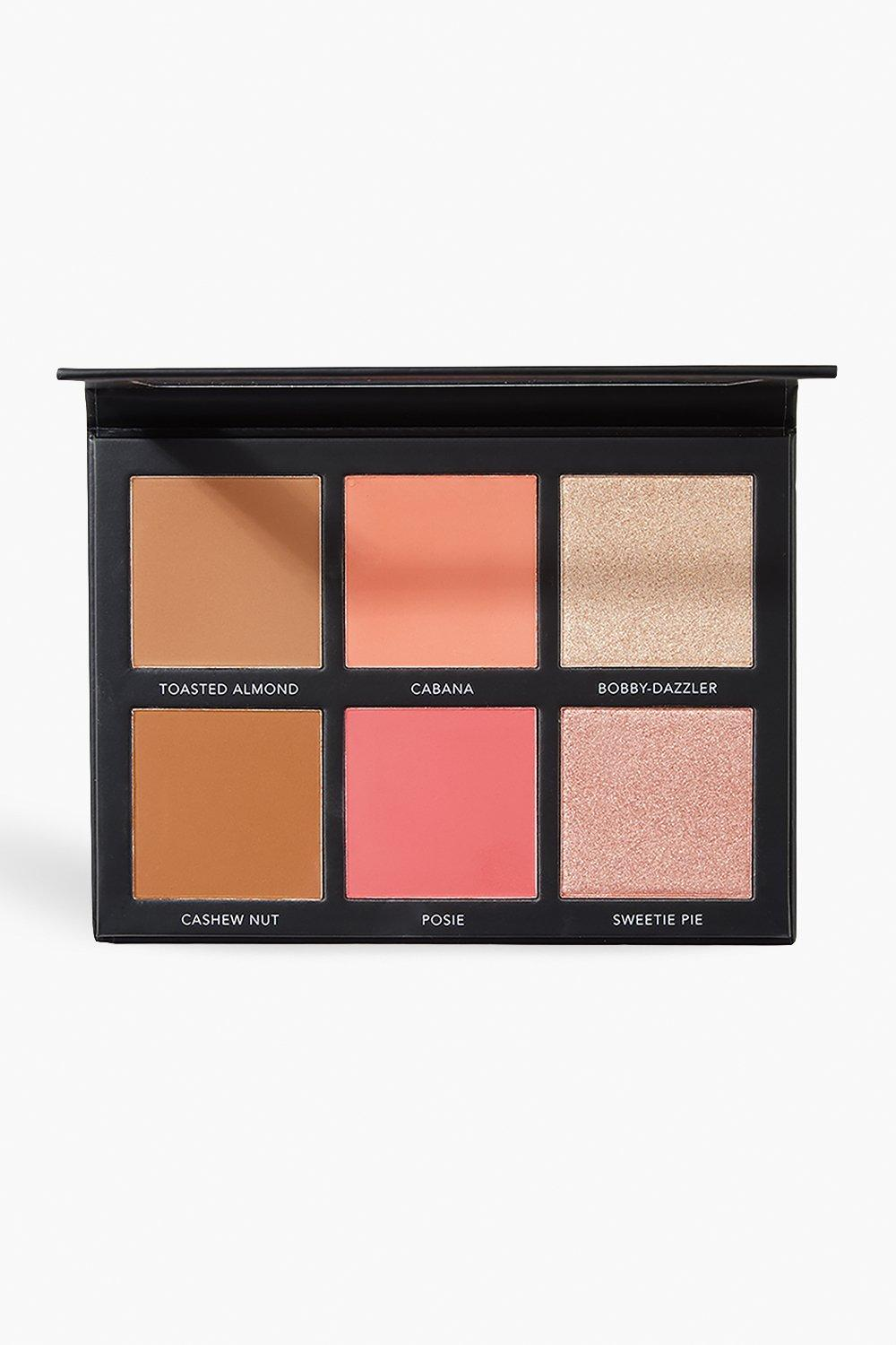 Sculpt & Glow Face Palette by Boohoo