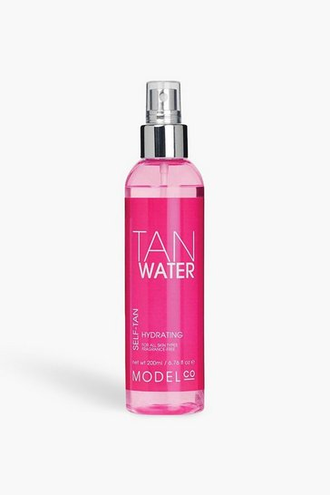 Womens Brown ModelCo Vegan Gradual Tanning Water