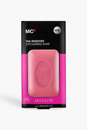 Womens White ModelCo Tan Remover Exfoliating Soap