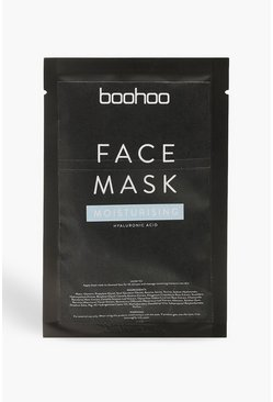 Womens Blue Hyaluronic Acid Moisturising Face Sheet Mask