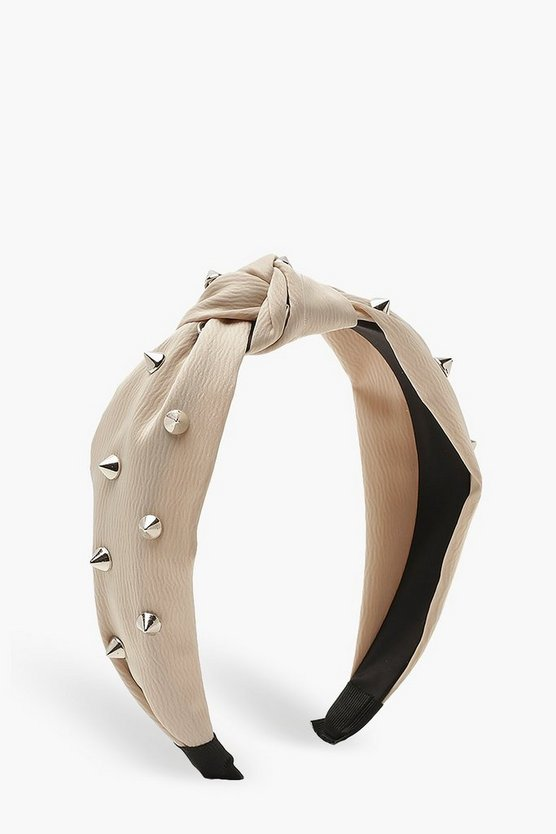Studded Twist Knot Headband