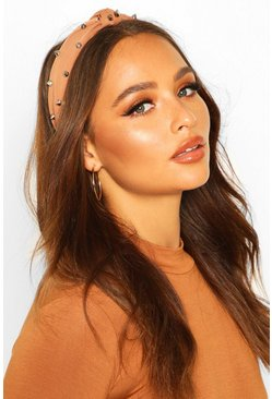 Toffee Studded Twist Knot Headband