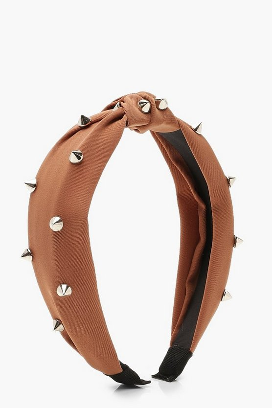 Studded Twist Knot Headband