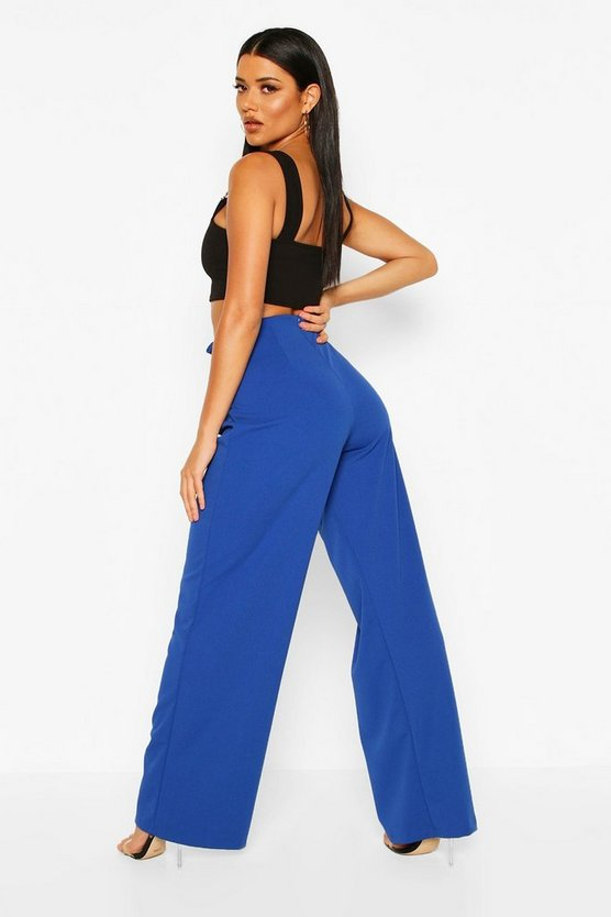 O Ring Wide Leg Trousers