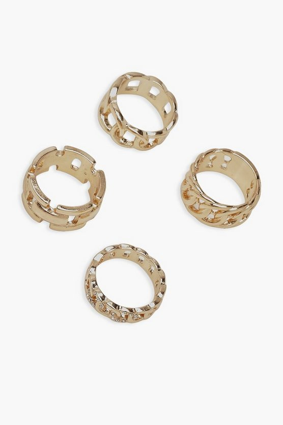 Chunky Chain Ring Pack