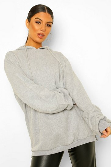 Light grey Extreme Oversized Hoodie