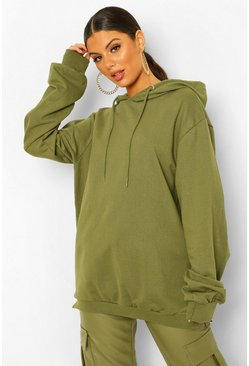 Olive Extreme Oversized Hoodie