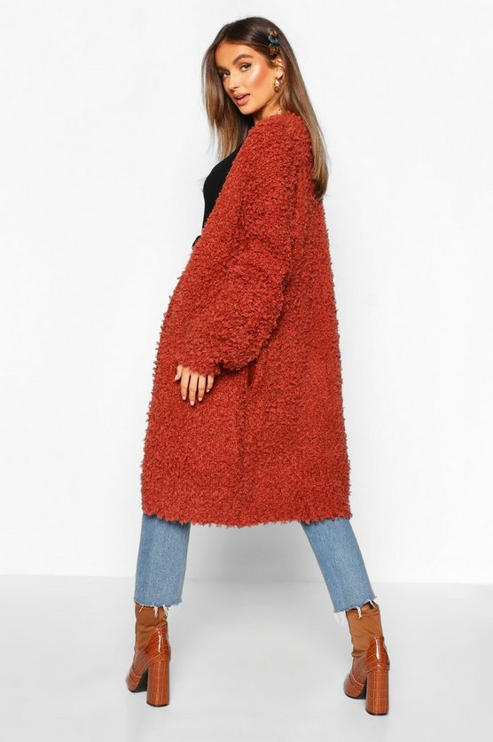 Teddy Knitted Oversized Boyfriend Knit