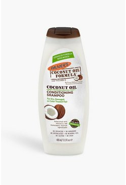 Womens White Palmer's Coconut Oil Shampoo 400ml