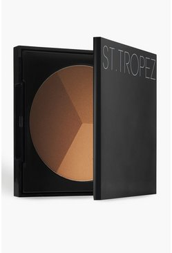 St.Tropez 3 In 1 Bronzing Powder 22g, Multi, Donna