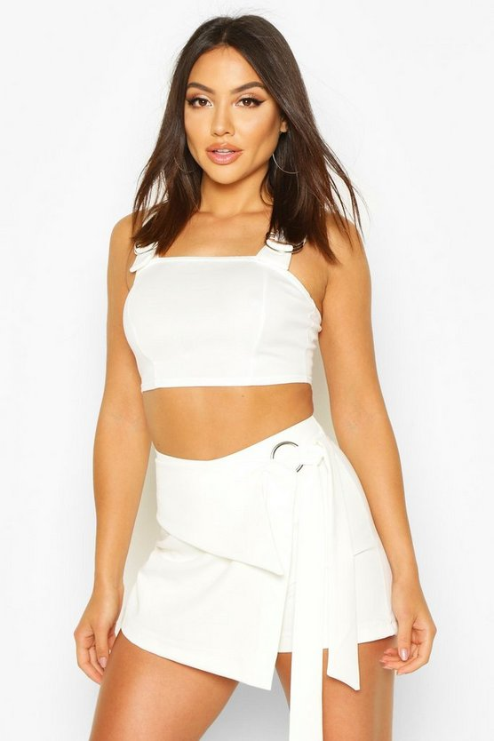 Wrap Front O Ring Detailed Short